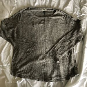 Light gray long sleeve shirt from Old Navy